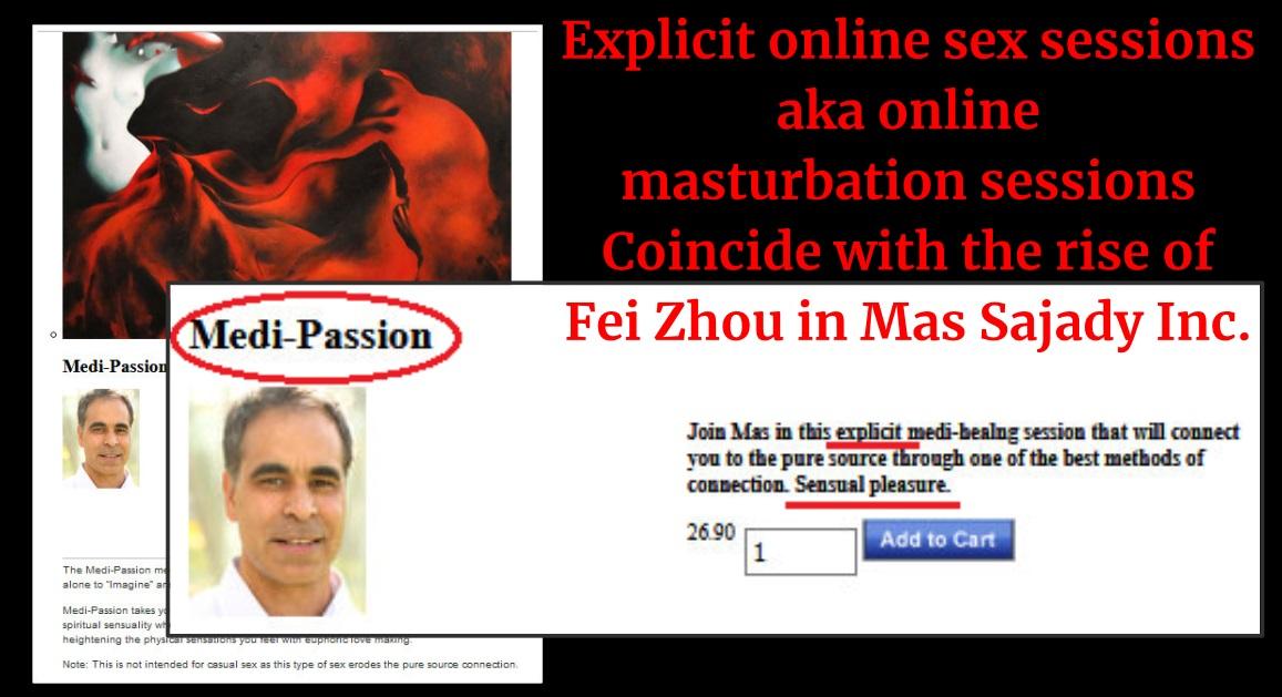 Fei Zhou, sex cult handler.